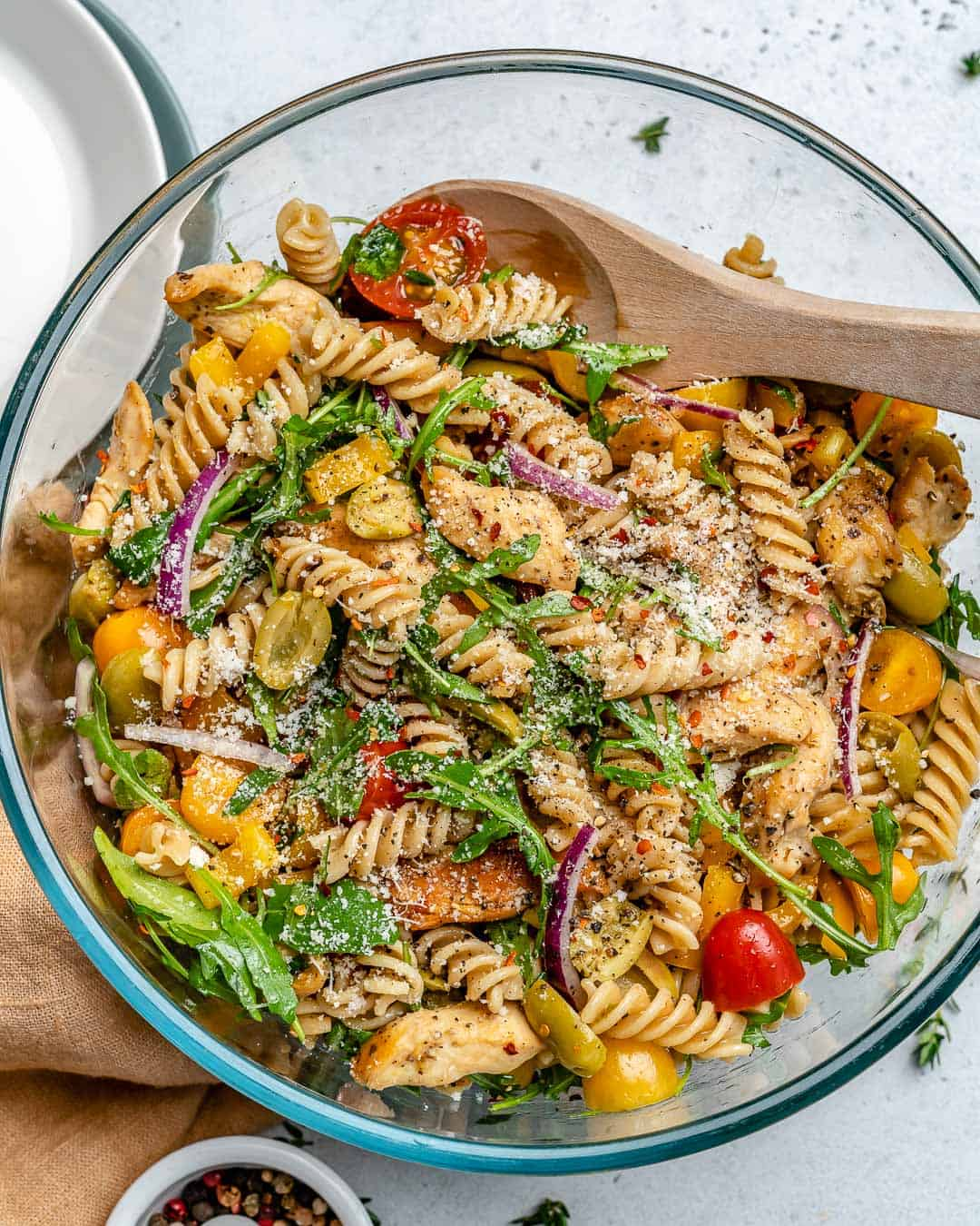 How To Make Chicken Pasta Salad Healthy Fitness Meals