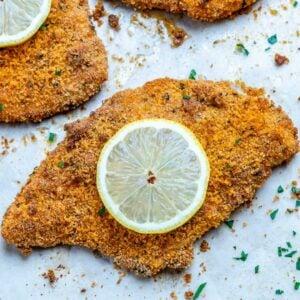 crispy baked chicken cutlet recipe