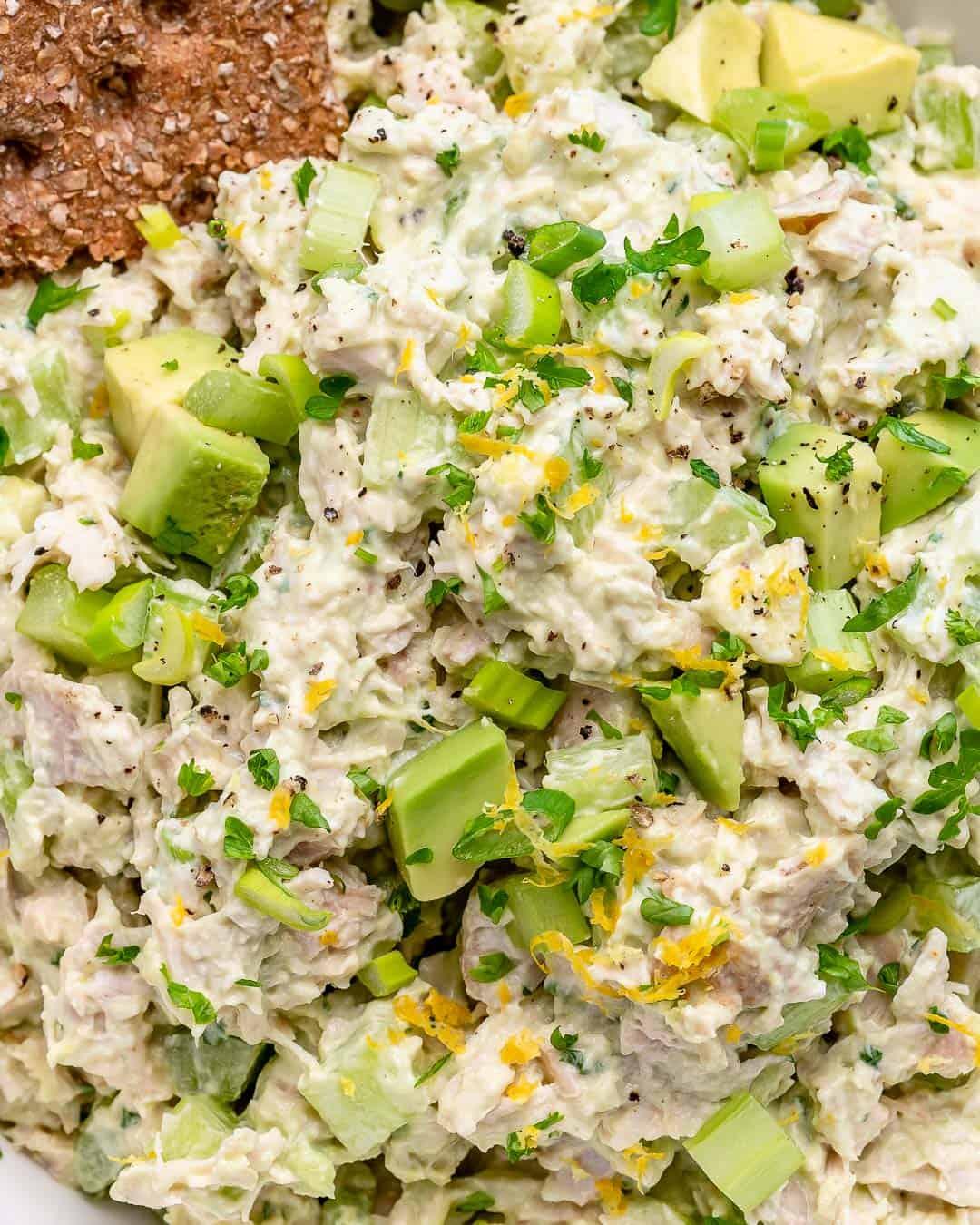 healthy and easy chicken salad recipe