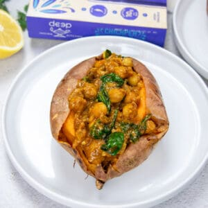 easy chickpea masala