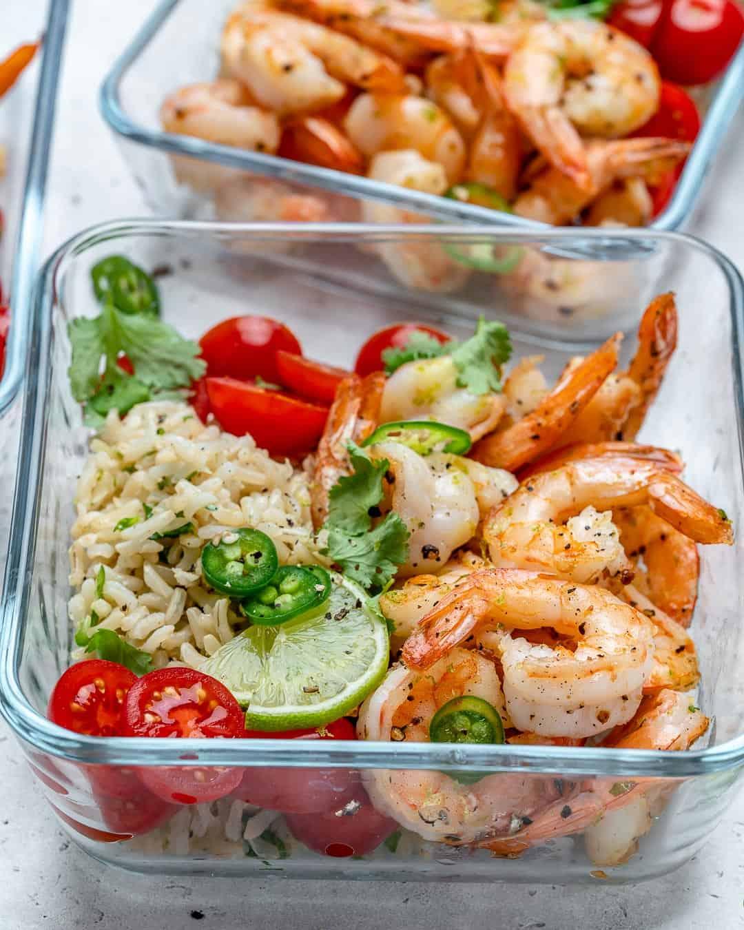 easy shrimp meal prep recipe
