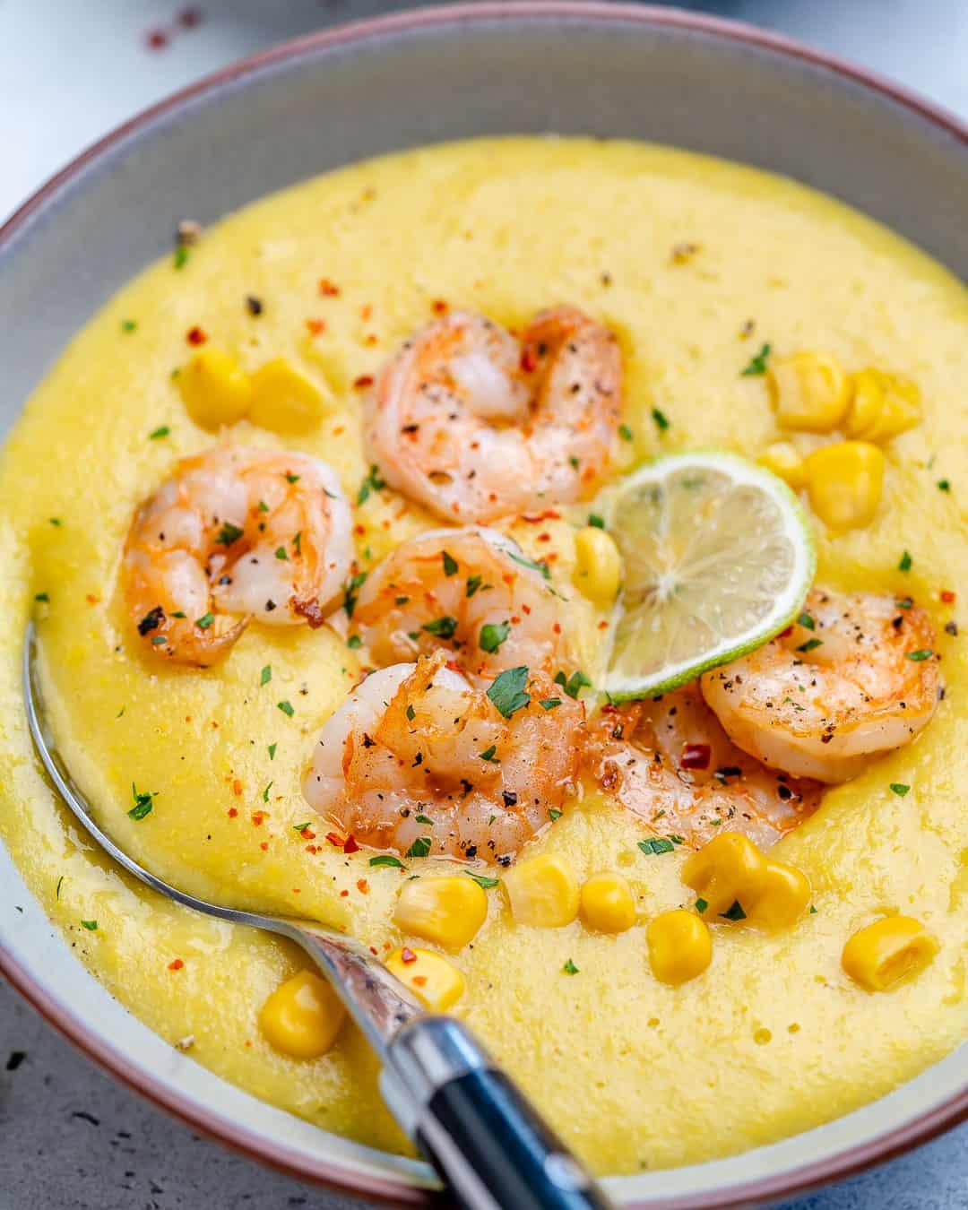 healthy homemade potato and corn soup
