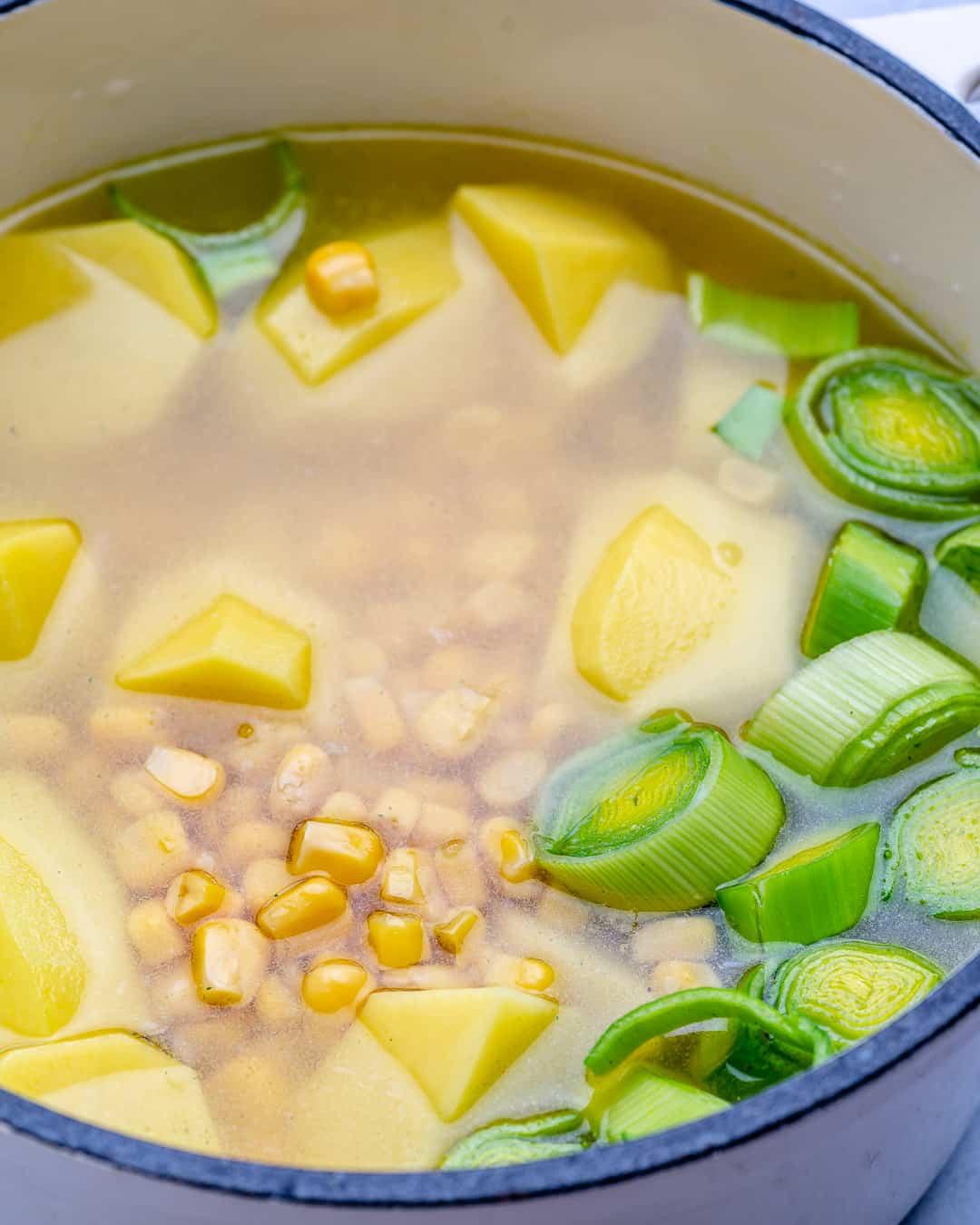 healthy corn soup recipe