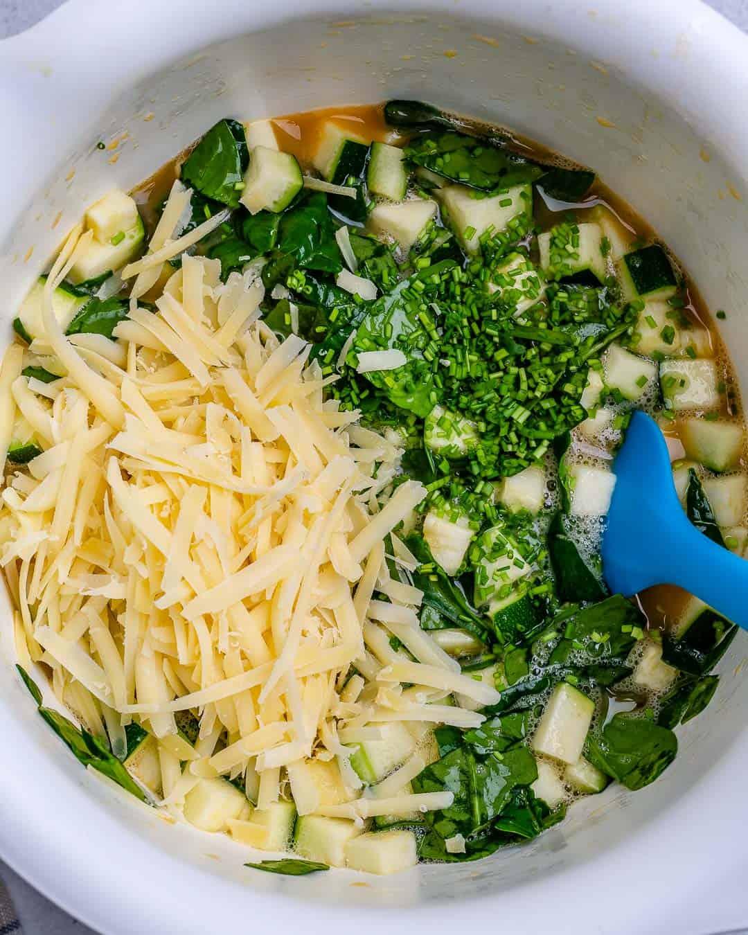 crustless vegetarian quiche recipe