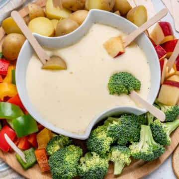 easy cheese fondue recipe