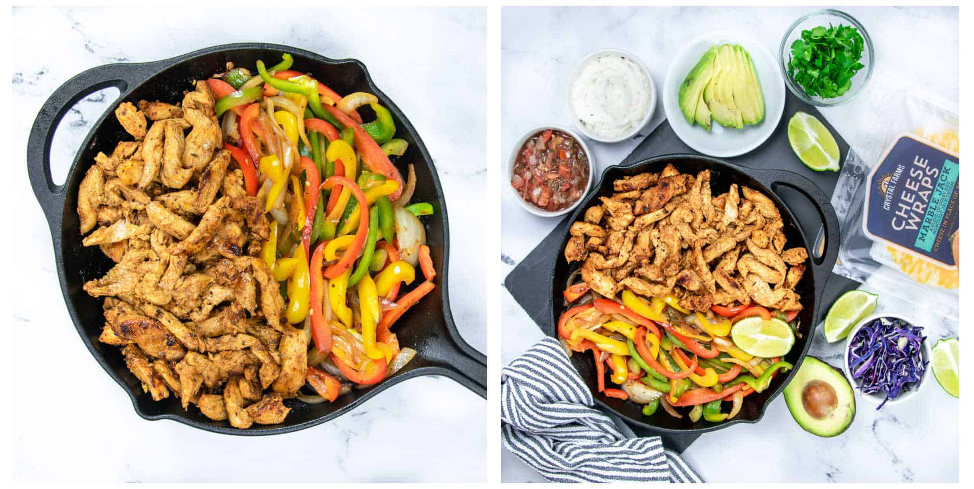 healthy chicken fajitas recipe