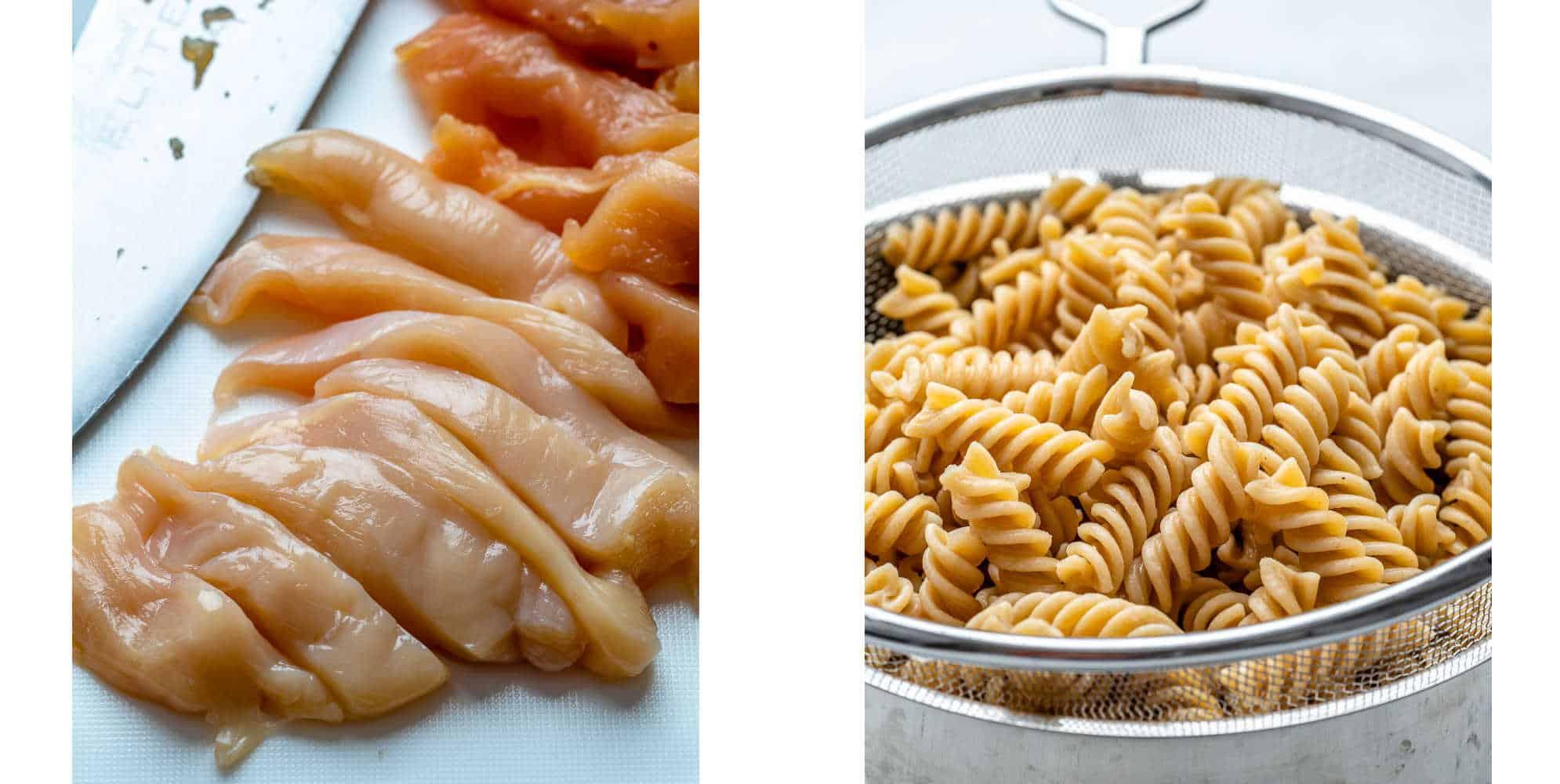 easy chicken pasta salad