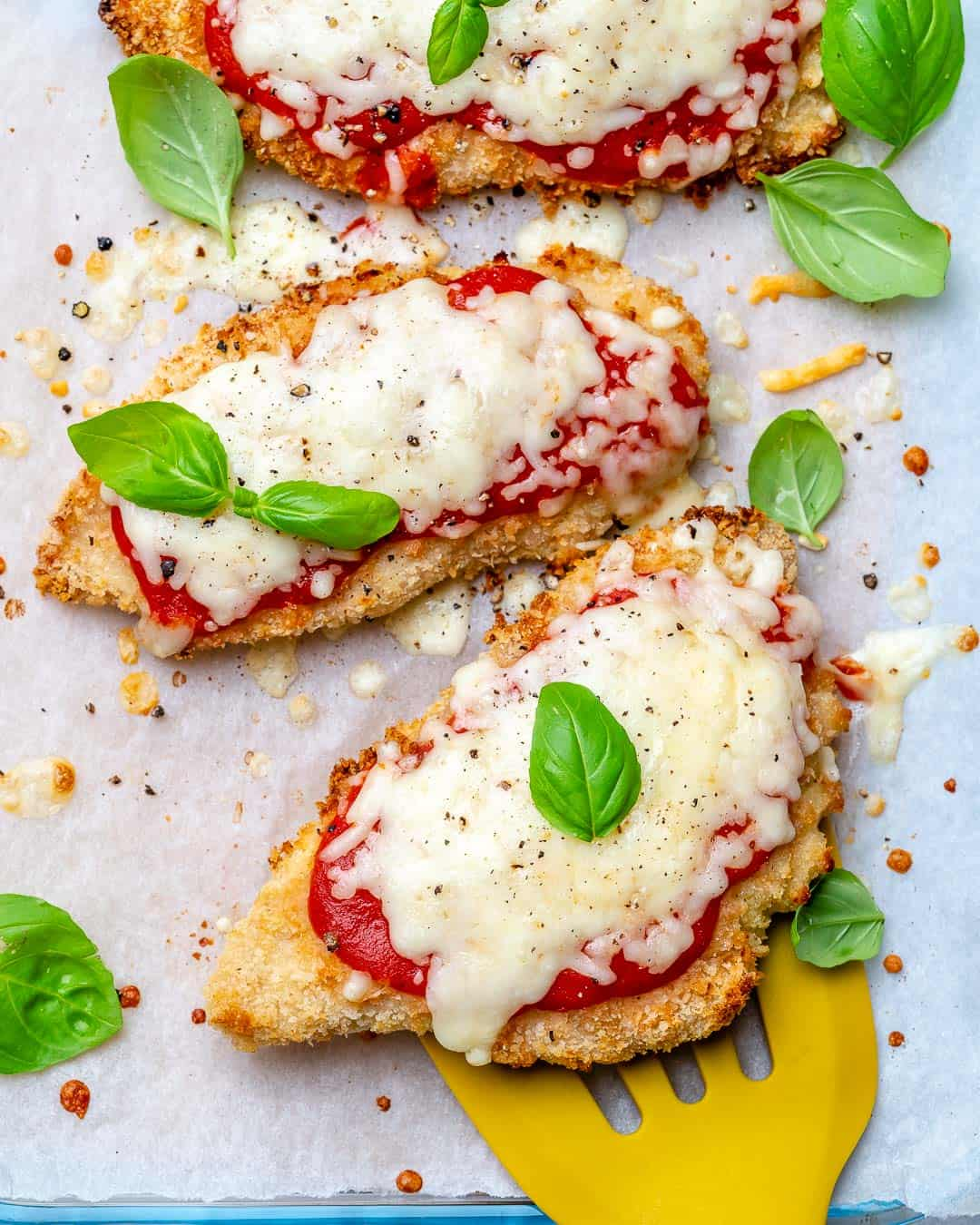 Easy Air Fryer Chicken Parmesan Recipe Healthy Fitness Meals
