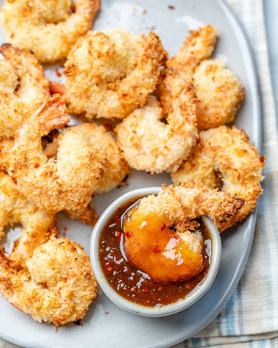 easy and simple coconut shrimps