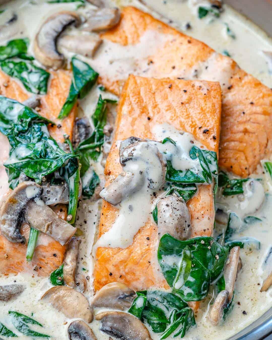 creamy salmon recipe