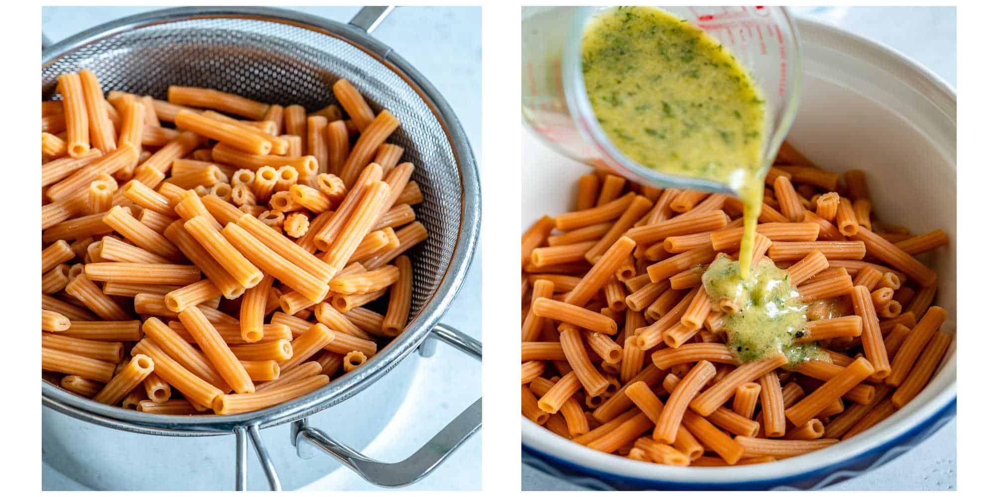 easy salmon pasta salad recipe