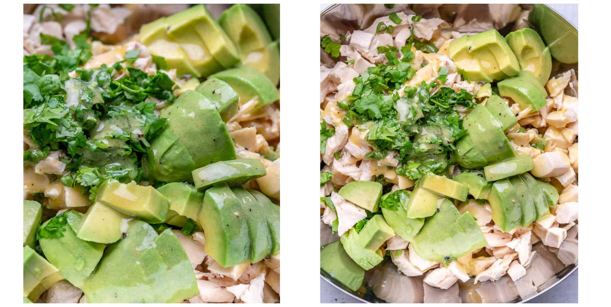 chicken avocado corn salad