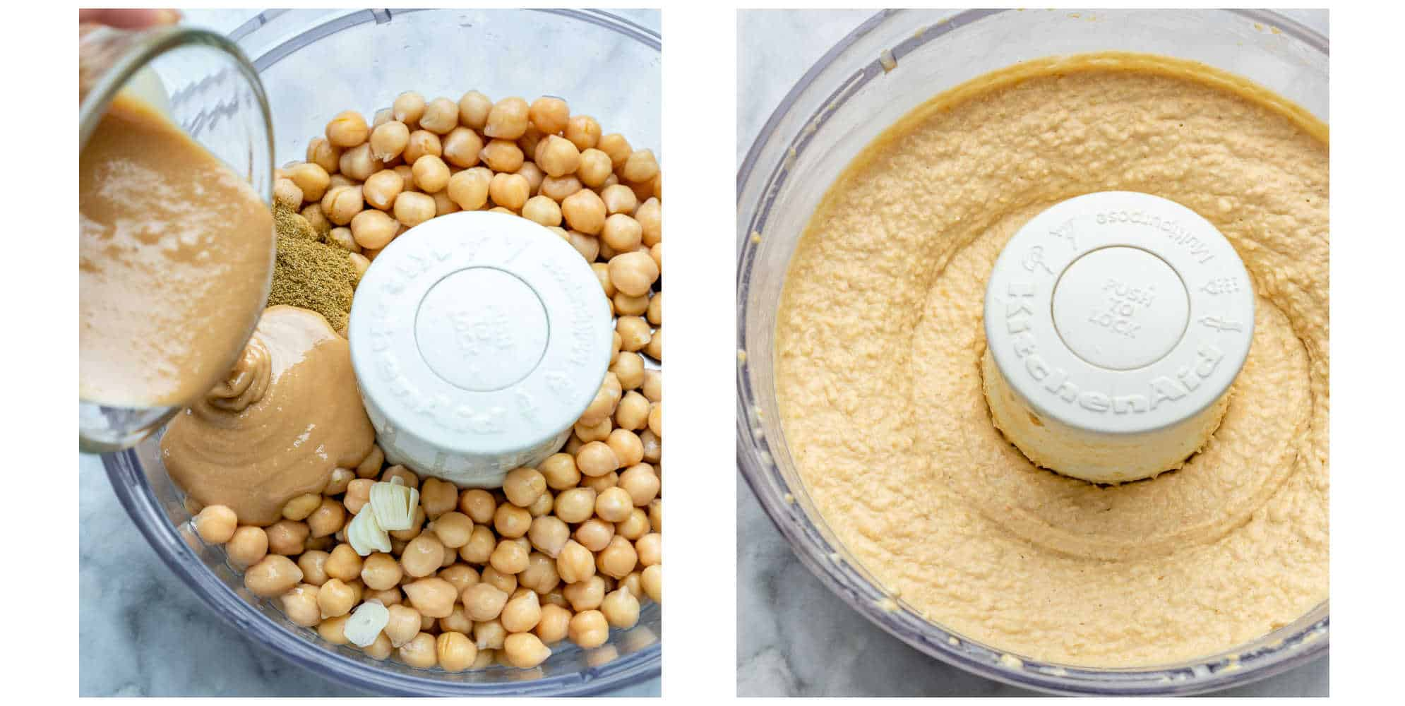 easy homemade hummus recipe