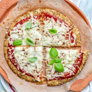 How to make cauliflower pizza crust-