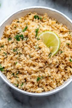 How To Make Cilantro Lime Cauliflower Rice