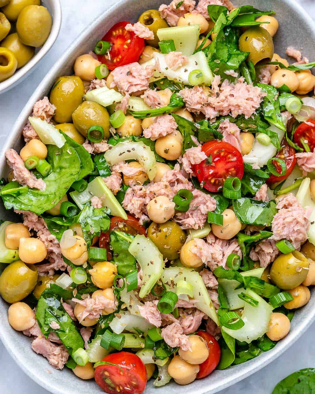 best tuna salad recipe with chickpea