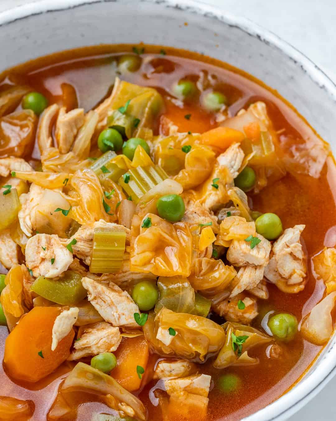 best cabbage soup recipe side view