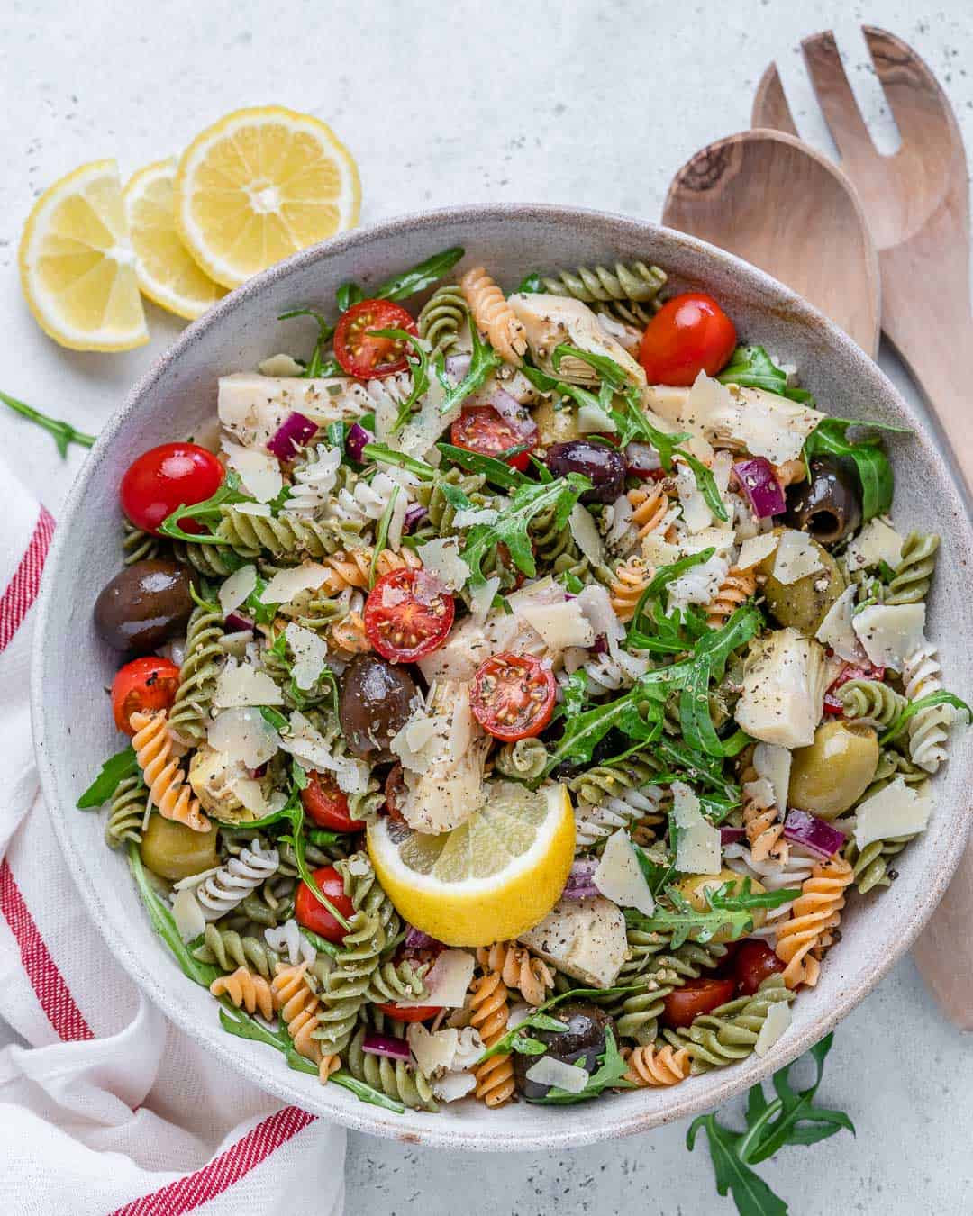 easy vegetarian pasta salad recipe
