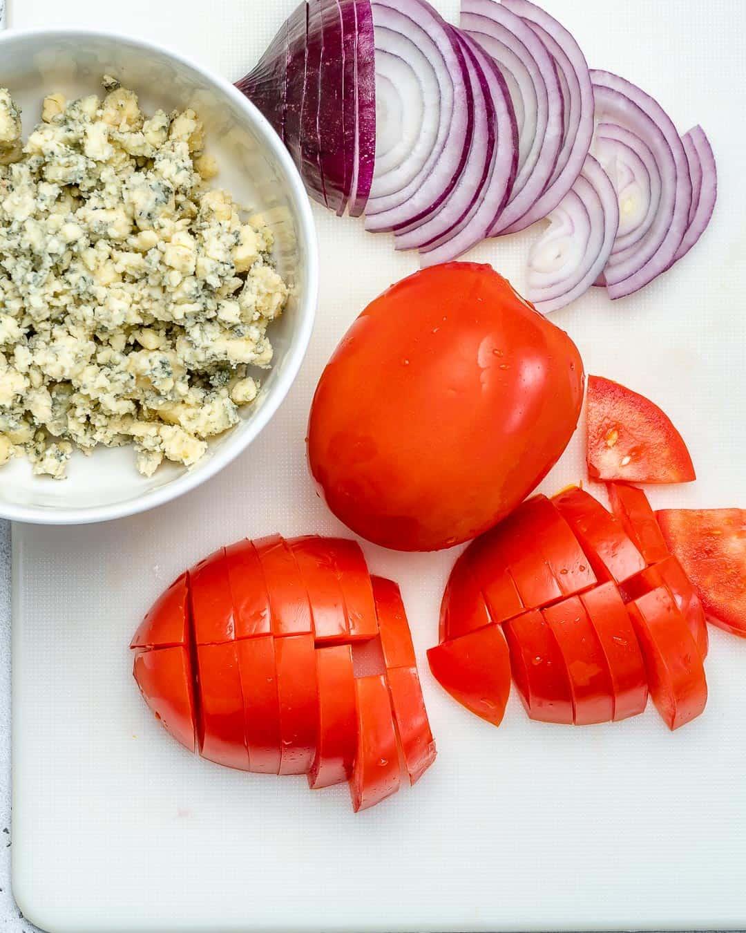 ingredients for Steak Salad Recipe