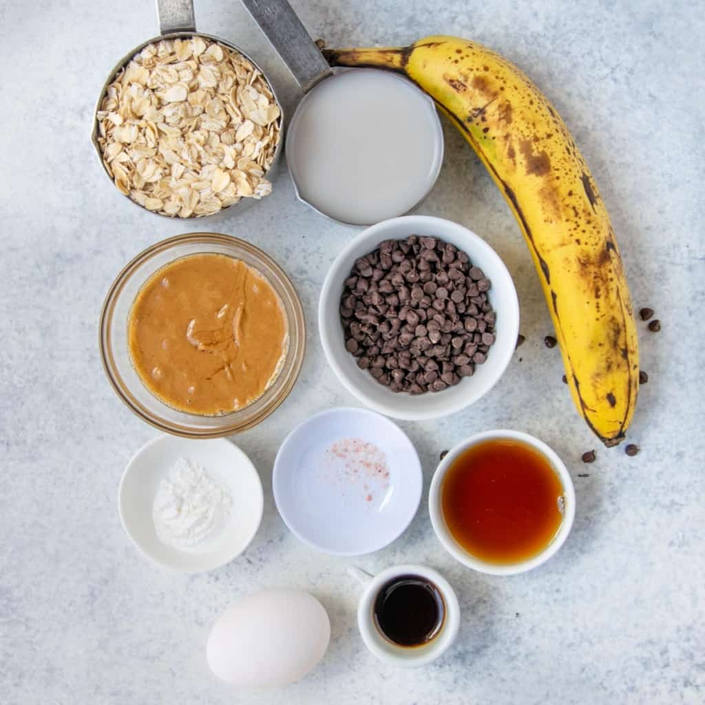 ingredients to make baked oats